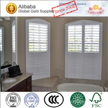 Fashion Appearance with Superior Quality Customized Stained Plantation Shutters Plans