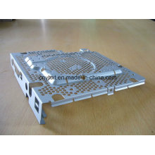 Kundengebundene Blechherstellung mit dem Stempeln, lochend, Maschinerie-Teile