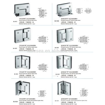 нержавеющая сталь Стекло зажимы / стекло дверь аппаратные средства / ванная комната стекло зажим