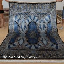 Tapis turc fait main de tapis en soie 6'x9 '
