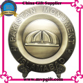 Metal Trophy Plate with 3D Logo