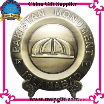 Bespoke Metal Trophy Plate para o presente