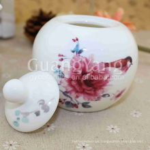 China Goods Wholesale Porcelain Moroccan Tea Set