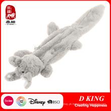 Brinquedos macios do animal de estimação durável do luxuoso do cão