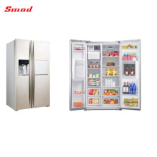 548L Frost Free Luxurious Low Noise Side By Side Refrigerator With Ice Maker, Water Dispenser And Home Bar