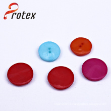 Solid Colour New Fashion Design Flatback Cute Plastic Children Button