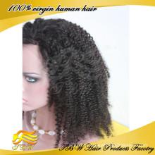 Ищу Импортеров Индийских Человеческих Волос Полный Шнурок Афро Кудрявый Человеческих Волос Парики Для Чернокожих Женщин