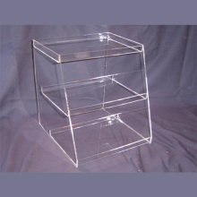 Pop Acrylic Candy Display Stand, Publicidade Display Shelf