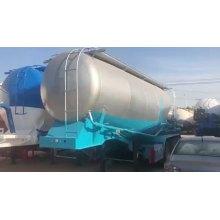 Remolque cisterna de cemento en polvo a granel seco de 3 ejes