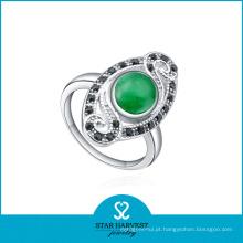 Green Stone jóias anéis atacadista (SH-R0249)
