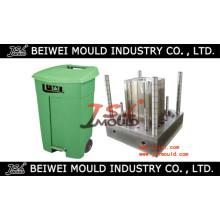 Kundenspezifische Injektion Kunststoff Outdoor Mülleimer Mold