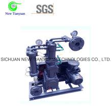 Compresor de gas industrial de bombeo de presión utilizado en las estaciones de suministro de gas