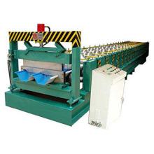 Machine de formage de rouleaux de plate-forme de plancher en acier de couleur chaude de style