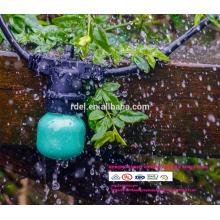 SLT7120 extérieur imperméable à l'eau de la chaîne de lumières G60 ampoule, noir, 48 '