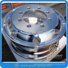 Jante de roue en aluminium durable 22.5X11.75 (jantes en aluminium) vente forfaitaire