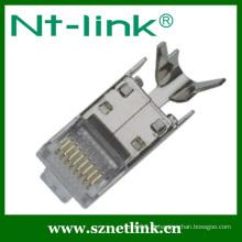 8P8C STP com fichas modulares para cabos