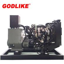 Grupo electrógeno diesel abierto de 100kVA / 80kw con motor Perkins