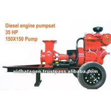 Ensemble de pompes à moteur diesel