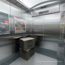 Gewicht Gearless Gebäude Lager Cargo Lift Fracht Personenverkehr Aufzug
