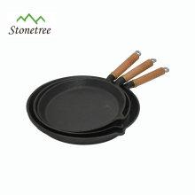 Poêle à bois en fonte pour la cuisson