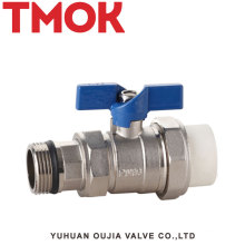 PPR brass male threaded ball valve automatic ball valve