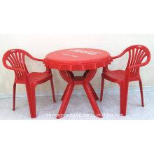 Molde plástico da mesa da praia da coca-cola Sandy