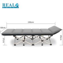 Cama de dobramento militar real do convidado cama extra do metal