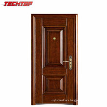 TPS-114A High Quality Board Steel Wooden Armored Door