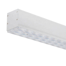 hot sale commercial built in driver 15w 20w 30w 45w custom smart cct suspension led linear light