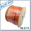 Vendas quentes 305m 1000ft LSZH 23 AWG 4 cabo de cobre desencapado do gato 7 do Ethernet