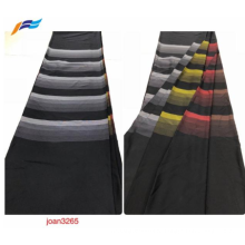 Формальные черные ткани Дубай Абая 100% полиэстер Нида
