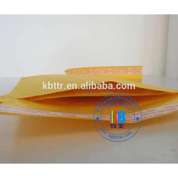 Poly Kraft barrier bubble mailing envelope with logo printing