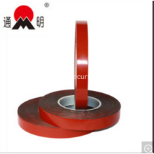 Red Film Double Sided Adhesive Permanent Pet Foam Tape