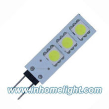 3 pcs 5050 G4 led boat light 12V