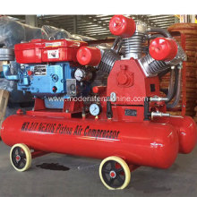 Diesel mining air compressor drilling machine