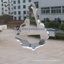 vidro por atacado de peças de decoração do lustre de cristal