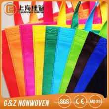Matériau biodégradable de sacs à provisions de tissu non-tissé qui respecte l'environnement