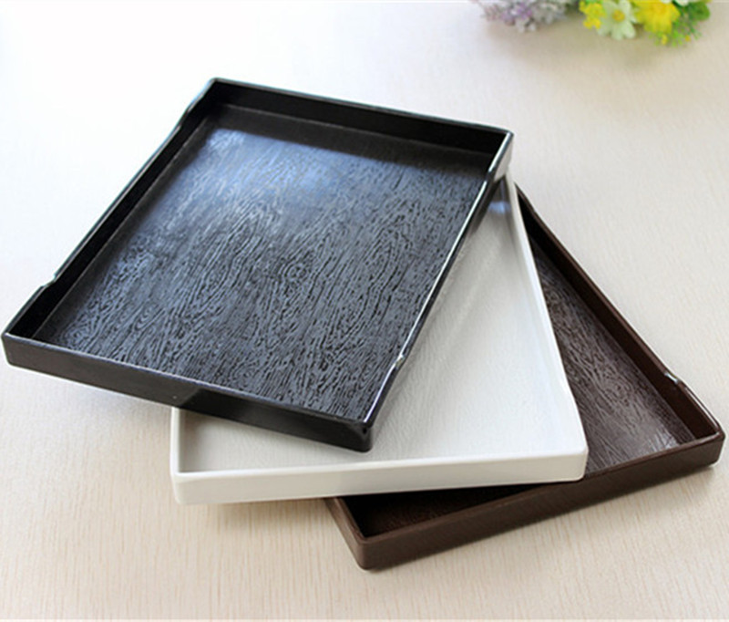 Non-slip Food Serving Trays