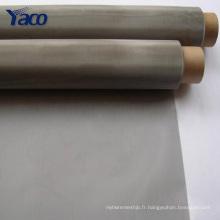 Maille métallique en acier inoxydable de 25 microns, maille métallique de 500 microns en acier inoxydable de 0,5 mm