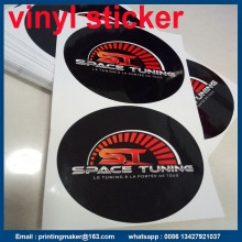 Custom Circle Glossy Vinyl Stickers