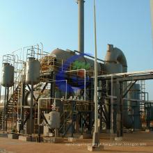 Linha de produção de tratamento de lodo