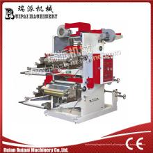Impressora Flexográfica de Filme Plástico Dupla Cor