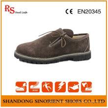 Chaussures de sécurité en cuir souple en cuir de suède Chine Suède Chaussures de sécurité Allemagne RS008