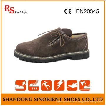 Китай Корова Замша кожа резиновые Мягкие подошвы Мужская обувь безопасности Германия RS008