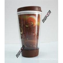 2015 Hot Grey Reusable Plastic Cup