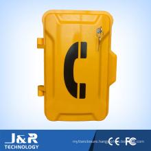 Key Lock Security Weatherproof Industrial Telephone Emergency Vandal Resistant Telephone