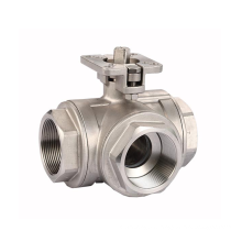 china manufacture High quality 3 way ball valves 4 inches