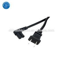Custom Angled IEC320 C7 Plug Power Cord with Low Price