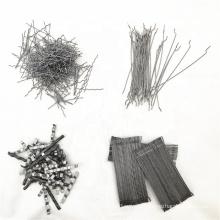 Micro stainless steel fiber for concrete reinforcement/end hook steel fiber