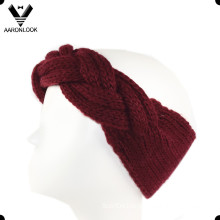 Soft Acrylic Hand Made Cable Pattern Headband